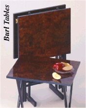 Snack Tables and TV Trays from Dann Clothing, Upscale Wooden Tray ...
