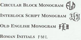 Monogram styles.jpg (18730 bytes)