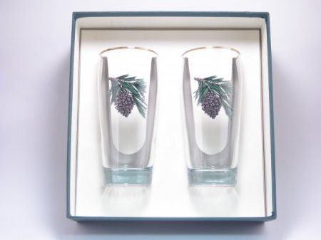 Pine Cone 20oz Beer Glasses