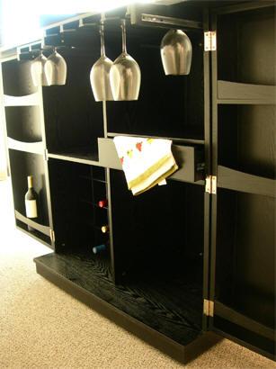 Steamer Bar Cabinet,