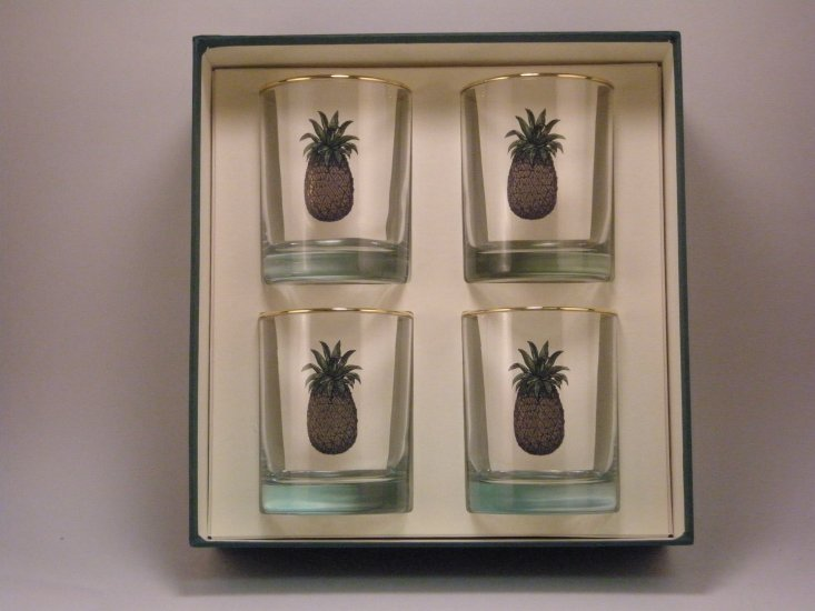 Pineapple, Double Old Fashioned, gift boxed - Click Image to Close