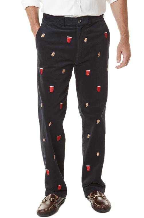 Castaway Clothing 2016 Embroidered Corduroy pants from Dann ...