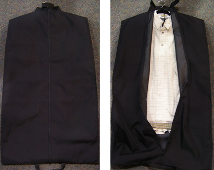 Cover-up garment bags