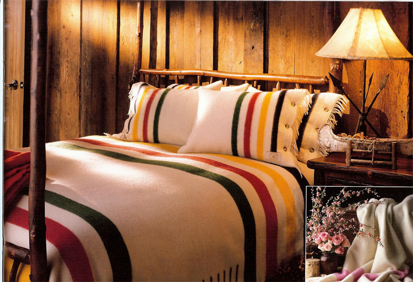 Hudson Bay Blankets By Woolrich From Dann Complete Collection