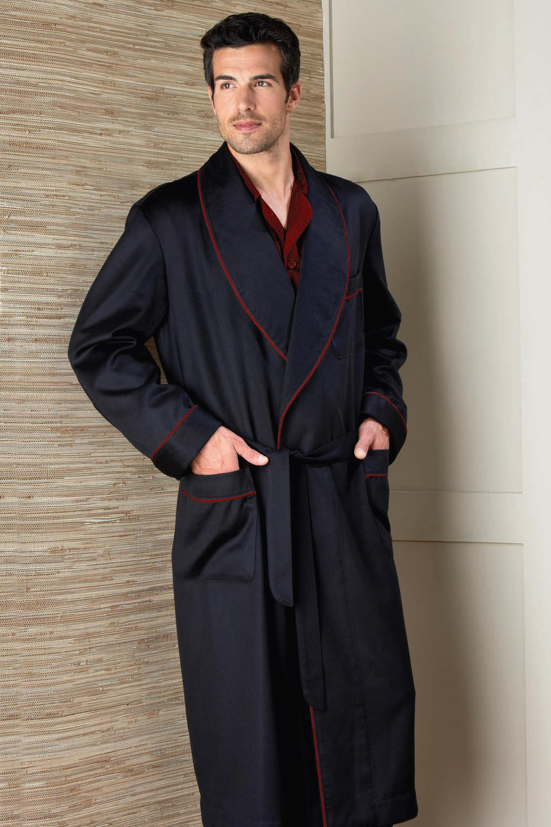 Cashmere Personalized Robes from Dann Clothing, Pure Cashmere ...