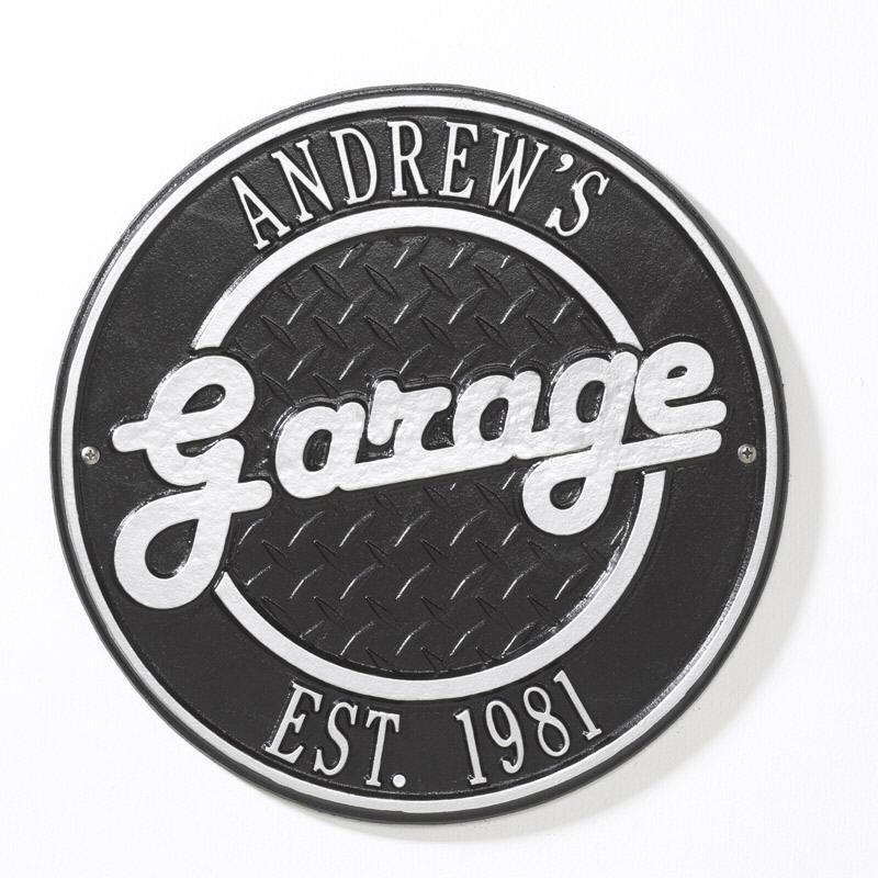 Garage Signs For Men : First line