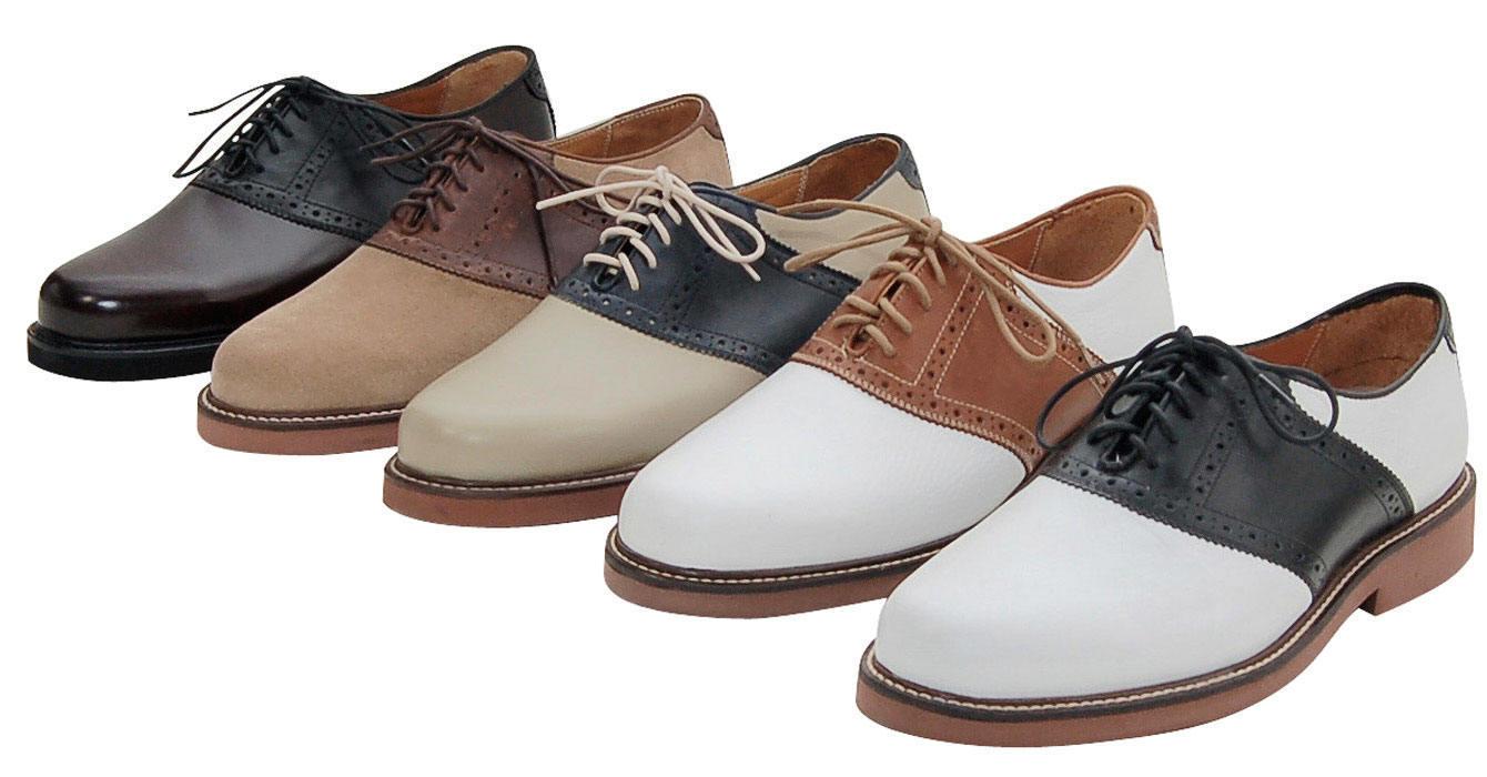 Ralph Lauren Mens Saddle Shoes