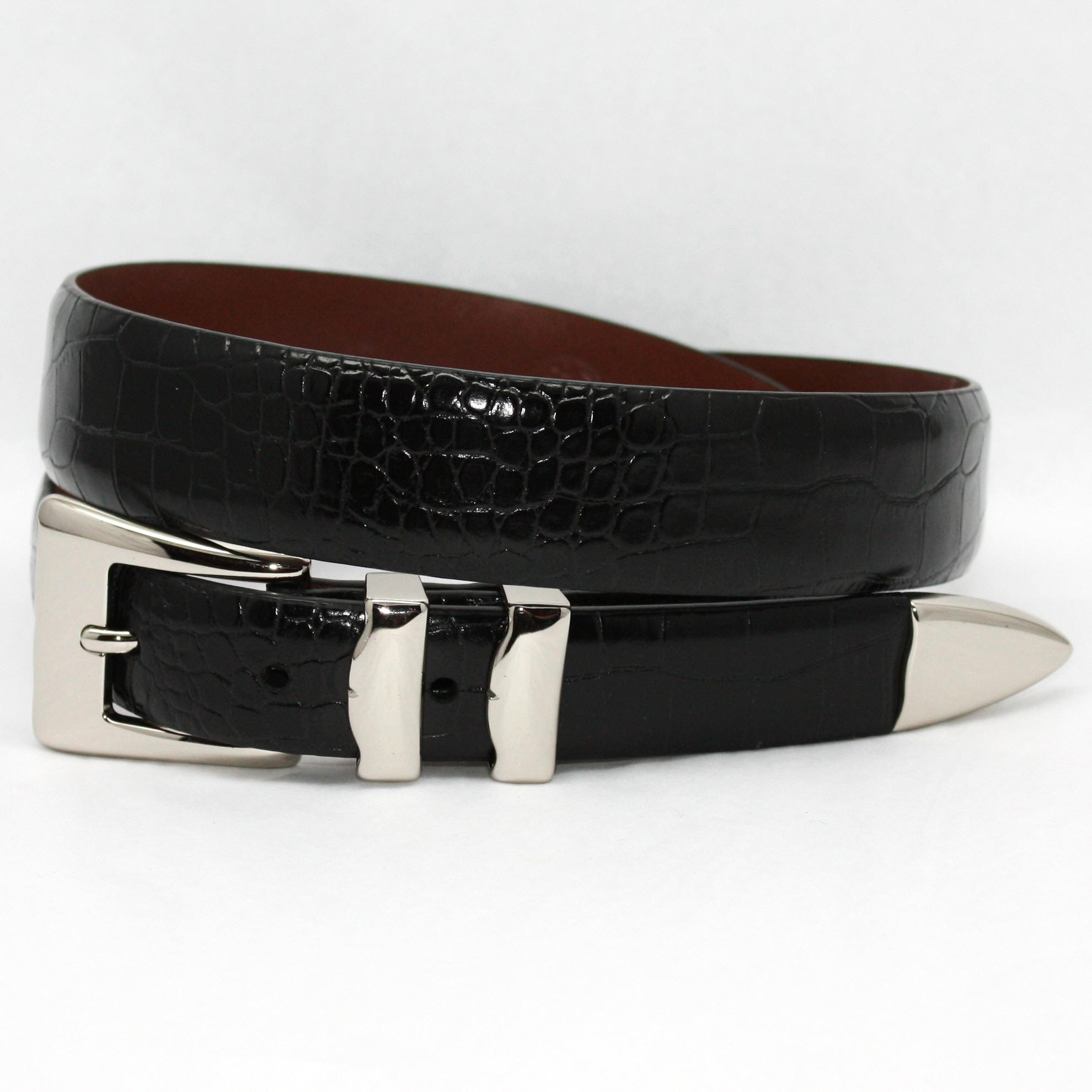 torino dress leather belts from dann mens clothing