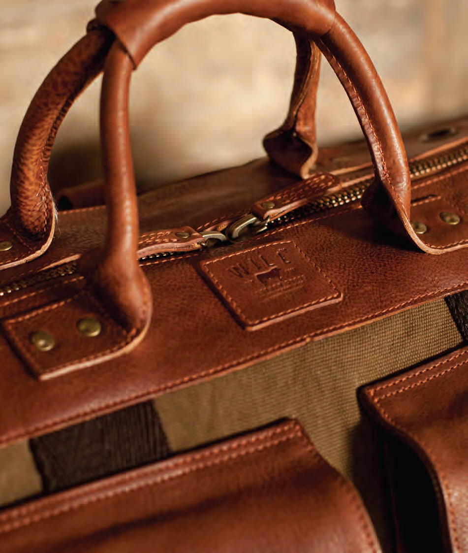 Personalized Leather Luggage, Leather Sports Bags and Brief Bags ...