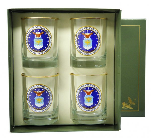Air Force, Double Old Fashioned, gift boxed - Click Image to Close