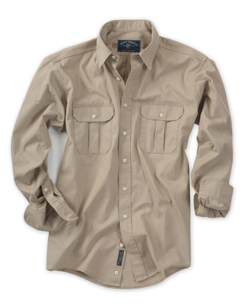Poplin Shirt, Long-Sleeve