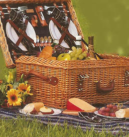 University Tailgating Picnic Baskets From Dann