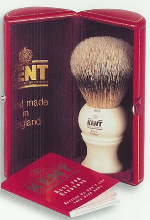 Kent Shaving Brush Collection from Dann, The World's Finest