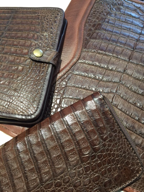 9eb7ceae9 Nile Crocodile Business Agendas from Dann, Exotic Skins from So ...