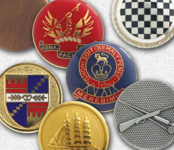 London Badge and Button
