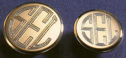 Image result for Replace your old buttons with Engraved Monogrammed Blazer Button Set now!