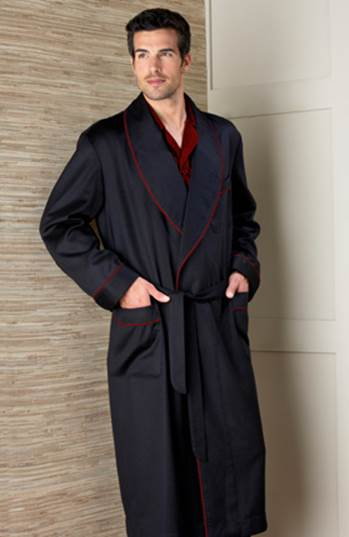 sleepwear by dann clothing  viyella robes  personalized robes  cashmere robes  robes