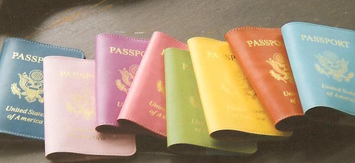 Baekgaard Leather Passport Cases From Dann Complete