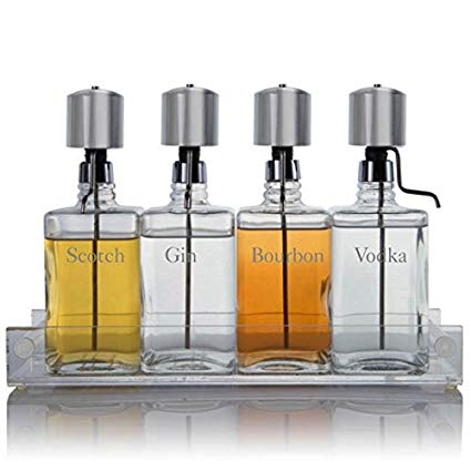 Tail Bottles And Dispenser Pumps
