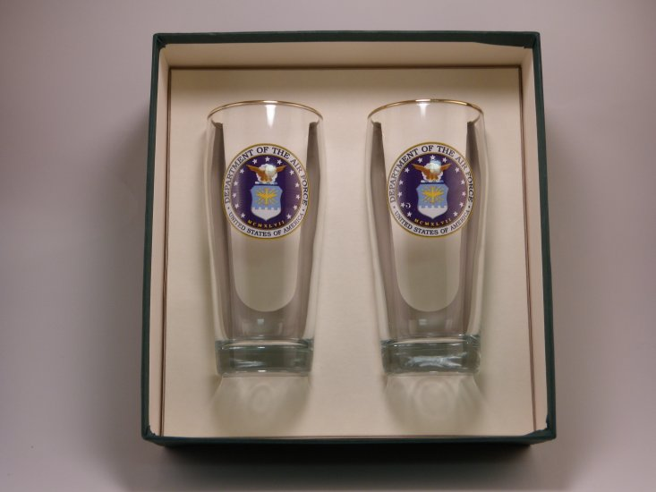 Air Force, Beer Glass, 20oz - Click Image to Close