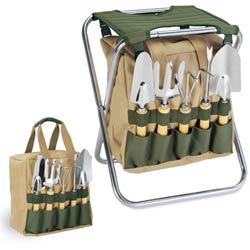 Includes 5 Popular Garden Tools And A Detachable Storage Section. Unique  And Innovative    An Ideal Tool To Use In Any Garden.