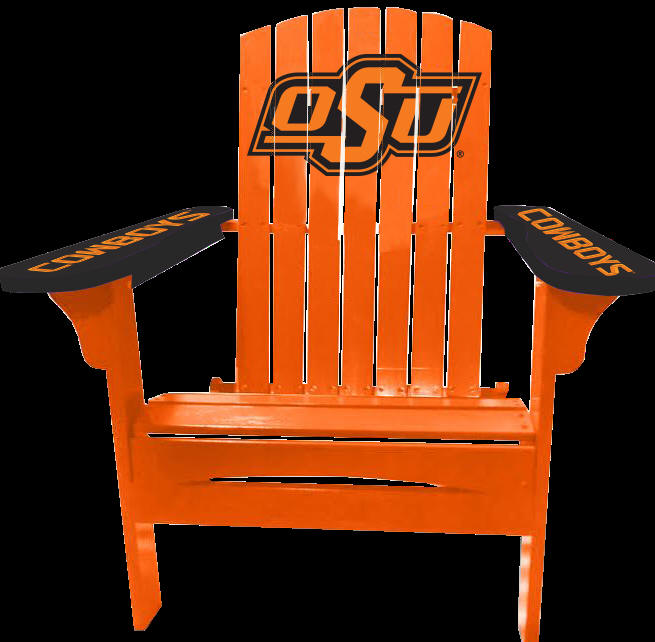 Fun Adirondack Chairs     In College Logos And Colors !