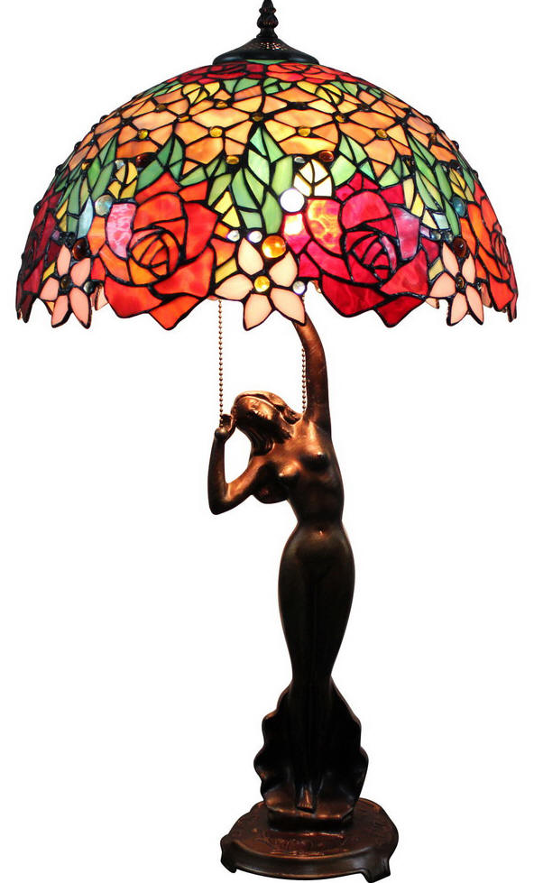 University Stained Glass Lamps From Dann