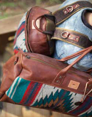 Will Leather Goods Oaxacan Duffle   Postal Bag--Free Monogramming-- from  Dann Clothing 1be7c761a3
