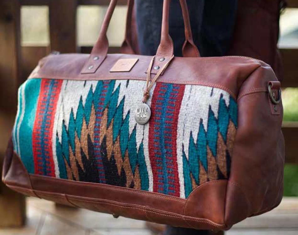 Will Leather Goods Oaxacan Duffle   Postal Bag--Free Monogramming ... 7e3589e127