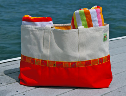 Island Handbags and Totes from Dann Clothing, Custom Totes & Patch ...